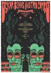 Cartel de Oskar Benas Instro Combo (La Nube Café Teatro, Bilbao, )