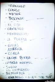 Setlist de Tiparrakers (Mendigo, Barakaldo, 2019)