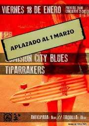 Cartel de Sumisión City Blues y Tiparrakers (Mendigo, Barakaldo, )