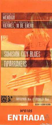 Entrada de Sumisión City Blues y Tiparrakers (Mendigo, Barakaldo, )