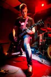 Lucas, cantante y guitarrista de Delest (Mendigo, Barakaldo, 2019)