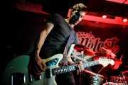 Luiyi Costa -guitarra- y  Joseba Arza -batería- de Bullet Proof Lovers