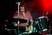 Jorge Hernández, baterista de Bonzos (Sala Azkena, Bilbao, 2019)