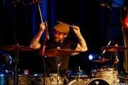 Ash Sheehan, baterista de Glenn Hughes & Band (Sala BBK, Bilbao, 2019)