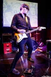 Buddy Fuzz, guitarrista de Sloks (Hika Ateneo, Bilbao, 2019)