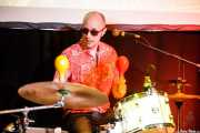 """Glen Foster """"Cheadle"""", baterista de Gogo Loco (Hika Ateneo, Bilbao, 2019)"""