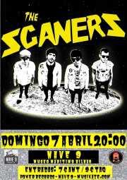 Cartel de The Scaners (Nave 9 (Museo marítimo), Bilbao, )
