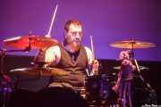 Asier  Suicida, baterista de Soma 101 (Kafe Antzokia, Bilbao, 2019)