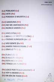 Setlist de Kinki Boys (Kafe Antzokia, Bilbao, 2019)