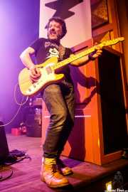 Javier Rivero, guitarrista de Negracalavera (Kafe Antzokia, Bilbao, 2019)