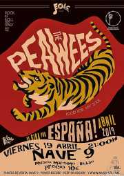 Cartel de The Peawees (Nave 9 (Museo marítimo), Bilbao, )