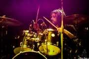 """Iñigo L. Agudo """"Indigo"""", baterista de James Room & Weird Antiqua (Kafe Antzokia, Bilbao, 2019)"""