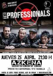 Cartel de The Professionals (Sala Azkena, Bilbao, )