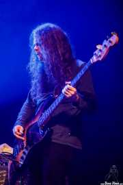 Mike Eginton, bajista de Earthless (Kafe Antzokia, Bilbao, 2019)