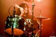 Mario Rubalcaba, baterista de Earthless (Kafe Antzokia, Bilbao, 2019)