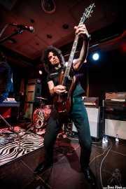 "Dani Sindaco ""Dani Sin"", guitarrista de The Lords of Altamont (Kafe Antzokia, Bilbao, 2019)"