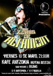 Cartel de The Lords of Altamont (Kafe Antzokia, Bilbao, )