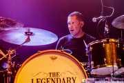 Paulo Segadães, baterista de The Legendary Tigerman (Kafe Antzokia, Bilbao, 2019)