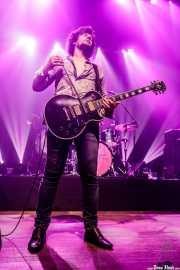 Jason Barwick, cantante y guitarrista de The Brew (Kafe Antzokia, Bilbao, 2019)