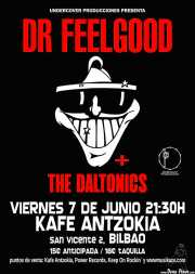 Cartel de Dr. Feelgood (Kafe Antzokia, Bilbao, )