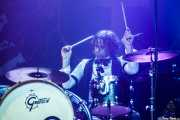 Richard Danielson, baterista de Vintage Trouble (Kafe Antzokia, Bilbao, 2019)