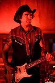 Israel Ruiz Rey, guitarrista y cantante de Los Duques de Monterrey (Azkena Rock Festival, Vitoria-Gasteiz, 2019)