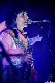 Linda Lamarr, cantante de Los Duques de Monterrey (Azkena Rock Festival, Vitoria-Gasteiz, 2019)
