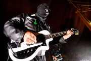 Blind Rage -guitarra y voz- y Chain Link -bajo- de Blind Rage and Violence (Azkena Rock Festival, Vitoria-Gasteiz, 2019)