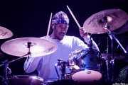 Chad Hasty, baterista de Glassjaw (Azkena Rock Festival, Vitoria-Gasteiz, 2019)
