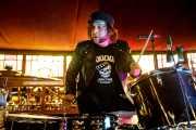 Martin Couri, baterista de The Courettes (Azkena Rock Festival, Vitoria-Gasteiz, 2019)