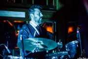 Berto Martínez, baterista de Los Torontos (Azkena Rock Festival, Vitoria-Gasteiz, 2019)