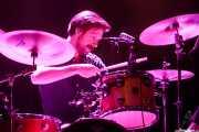 Tobias Humble, baterista de Gang Of Four (Azkena Rock Festival, Vitoria-Gasteiz, 2019)