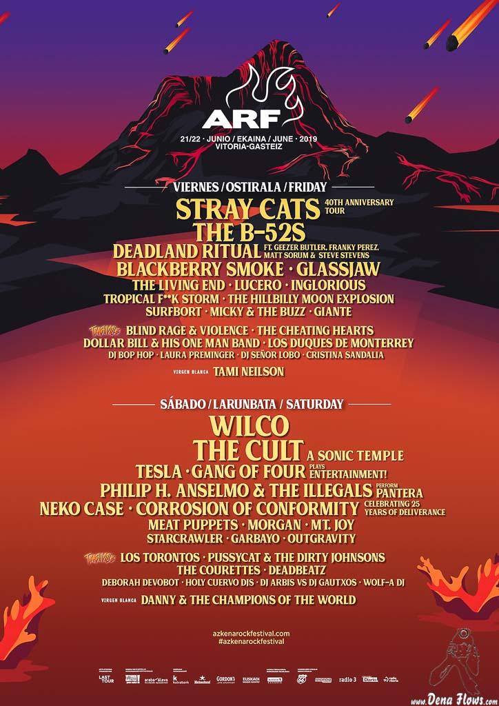 Cartel del Azkena Rock Festival 2019 (Azkena Rock Festival, Vitoria-Gasteiz, )