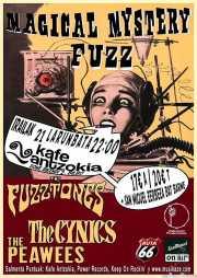 Cartel del Magical Mystery Fuzz (Kafe Antzokia, Bilbao, )