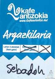 PhotoPass de Sebadoh (Kafe Antzokia, Bilbao, )