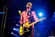 """Michael """"Olga"""" Algar, cantante y guitarrista de The Toy Dolls (Santana 27, Bilbao, 2020)"""