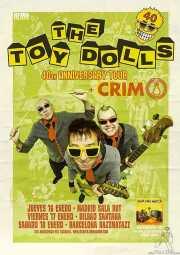 Cartel de The Toy Dolls (Santana 27, Bilbao, )