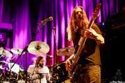 Marco Minnemann -batería- y Bryan Beller -bajo- de The Aristocrats (Kafe Antzokia, Bilbao, 2020)