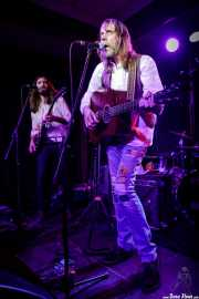 Matt Hill -guitarra- y Brent Rademaker -voz y guitarra- de Gospelbeach (Kafe Antzokia, Bilbao, 2020)