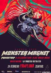 Cartel de Monster Magnet (Zentral, Iruña / Pamplona, )