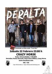 Cartel de Peralta (Crazy Horse, Bilbao, )