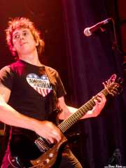 Mikel Yarza, guitarrista de Rainy City Kids (Bilborock, Bilbao, 2004)