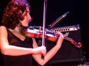 Nerea Alberdi Etxebarría, violinista de Maha (Bilborock, Bilbao, 2004)