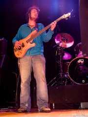 Daniel González Álvarez, bajista de Maha (Bilborock, Bilbao, 2004)
