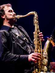 Mihail Goldfingers, saxofonista y flautista de The Cherry Boppers (Bilborock, Bilbao, 2007)