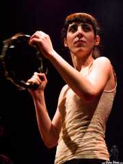 Nadia Barkate, cantante de Maha (Bilborock, Bilbao, 2007)