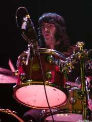 Patxi López Monasterio, baterista de Maha (Bilborock, Bilbao, 2007)