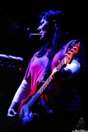 Kim Deal, bajista y cantante de Pixies (FestiMad, Móstoles, )