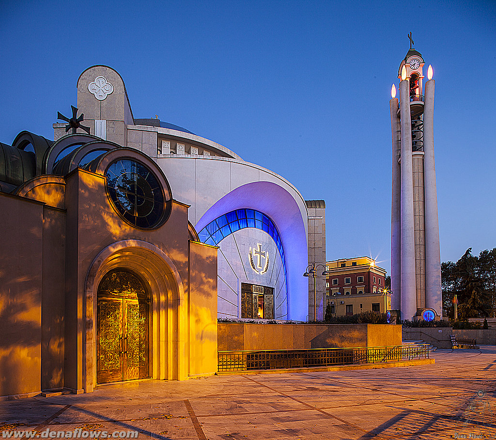 Resurrection of Christ Orthodox Cathedral, Tirana (Albania)