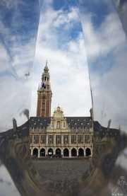 Biblioteca de la Universidad de Lovaina (Bélgica)